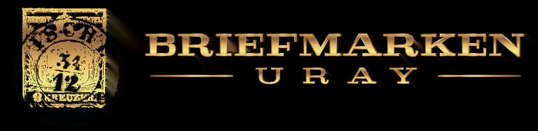 Briefmarken URAY Logo