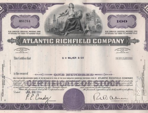 Aktie Atlantic Richfield Company