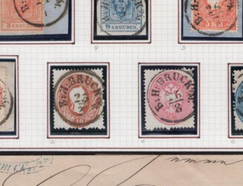 Steiermark Stempel Sammlung komplett eingelesen
