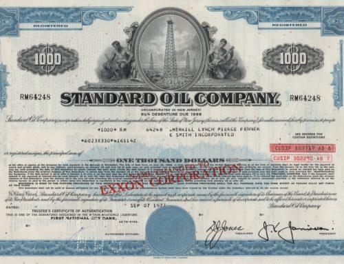 Aktie Standard Oil Company