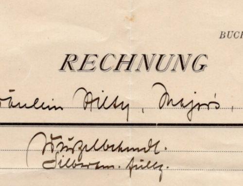 Zeitzeugen 1923/29 Zahnarzt